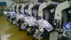flexo printer COMCO Proglide MP 8